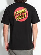 Santa Cruz Simpsons Springfield Dot T-Shirt