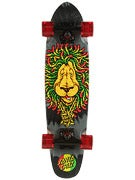Santa Cruz Sidewalk Screamer Rasta Complete  6.4 x 25.3