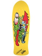 Santa Cruz Slasher Yellow Dip Reissue Deck  10.1x31.13