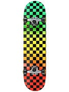 Speed Demon Fade Checks Rasta Complete  7.8 x 31.25
