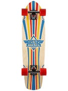 Duster's California Keen Blue/Red Cruiser  8.25 x 31