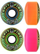 Spitfire 80HD Speedies Neon Blast Mash Up Wheels