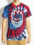Spitfire Bighead Spiral Tie Dye T-Shirt