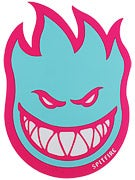 Spitfire Fireball Fill Sticker Large Pink/Teal