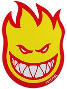 Spitfire Fireball Fill Sticker Large Red/Yellow