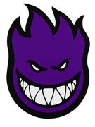 Spitfire Fireball Sticker X-Large Purple