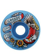 Spitfire Grosso OG Flash Blue Wheels