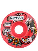 Spitfire Grosso OG Flash Red Wheels