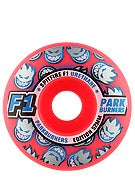 Spitfire F1 Parkburner Rocket Red Wheels