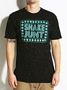 Shake Junt Box Logo Speckled T-Shirt