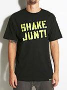 Shake Junt Spray Logo Crackle T-Shirt