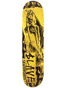 Slave Bass Destruction Yellow Deck  7.75 x 31.75