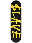 Slave Corporate Black/Yellow Deck  8.25 x 32.25