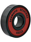 Sk8 Mafia Big Red Rasta Bearings ABEC 5