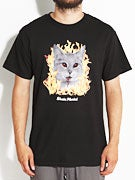 Skate Mental Evil Cat T-Shirt