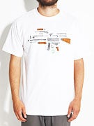 Skate Mental Exploded AK-47 T-Shirt