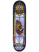 Sk8 Mafia Gray Stained Glass Deck 8.25 x 32.12
