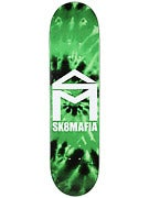 Sk8 Mafia House Logo Tie Dye Green Deck 8.19 x 32