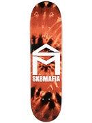 Sk8 Mafia House Logo Tie Dye Orange Deck 8.3 x 32