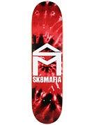 Sk8 Mafia House Logo Tie Dye Red Deck 8.0 x 32