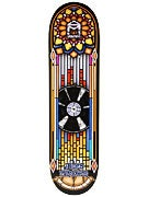 Sk8 Mafia Brown Stained Glass Deck 8.25 x 32.12
