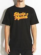 Skate Mental Logo Fade T-Shirt