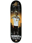Sk8 Mafia Gray Godfather Deck  8.38 x 32