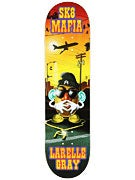 Sk8 Mafia Gray Toe Up Deck 8.25 x 32.12
