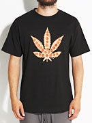 Skate Mental Pizza Leaf T-Shirt
