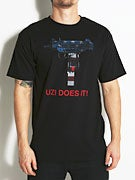 Skate Mental Uzi Does It USA T-Shirt