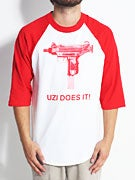 Skate Mental Uzi Does It Raglan