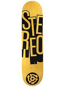 Stereo Stacked Yellow Deck  7.75 x 31.25