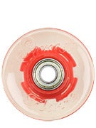 Sunset Flare Red LED Wheels  59mm