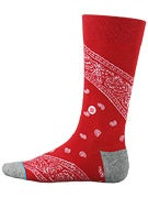 Stance Barrio Socks Red