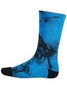 Stance Burnout Socks Teal