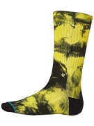 Stance Burnout Socks Yellow