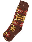 Stance The Reserve Cabazon Socks  Brown