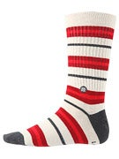 Stance Duvall Socks  Red