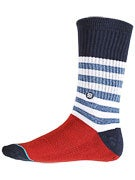 Stance Milo Socks  Red