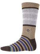 Stance Mantle Socks  Brown