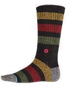 Stance Overdub Socks  Black