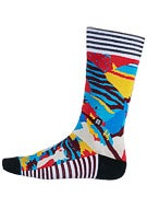 Stance Poly Socks Tropical