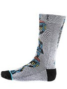 Stance Skate Legends Barbee Socks  Grey