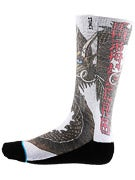 Stance Skate Legends Caballero Socks  White