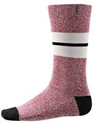 Stance Sequoia Socks  Red Heather
