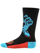 Stance Everyday Athletic Screaming Hand Socks  Black