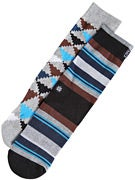 Stance Mix Match Vortex Socks  Grey
