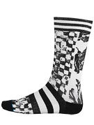 Stance Wreckage Socks Black