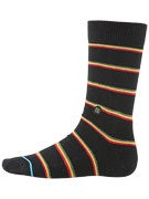 Stance The Reserve Zion Socks  Black