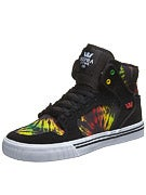 Supra Kids Vaider Shoes  Black/Multi/White